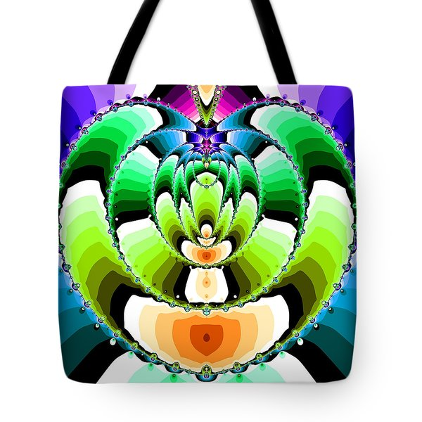Tote Bag featuring the digital art Elevilenix by Andrew Kotlinski
