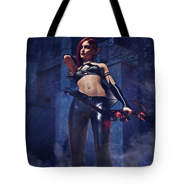 Elf Assassin Tote Bag