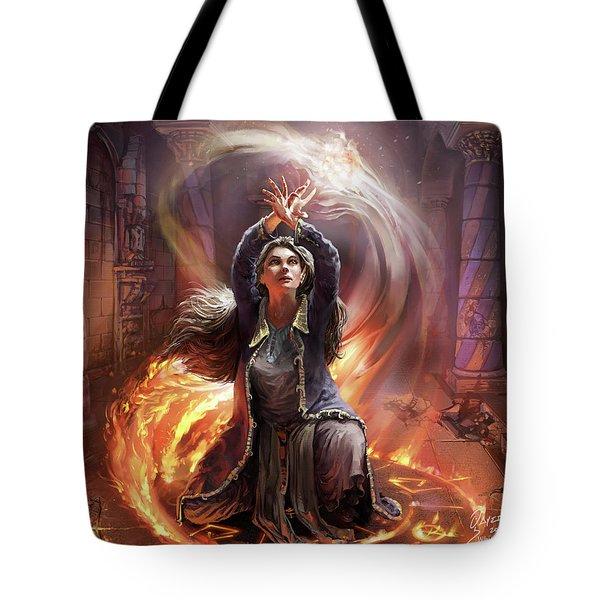 Elf Mage Tote Bag
