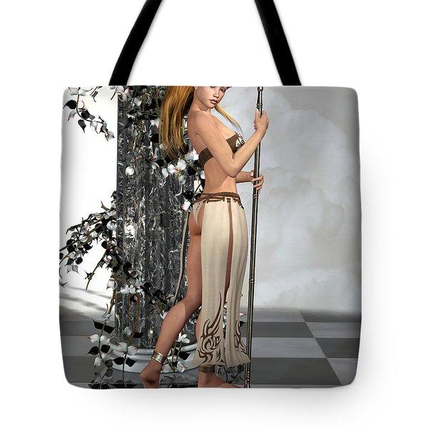 Elf Princess Tote Bag by Alexander Butler