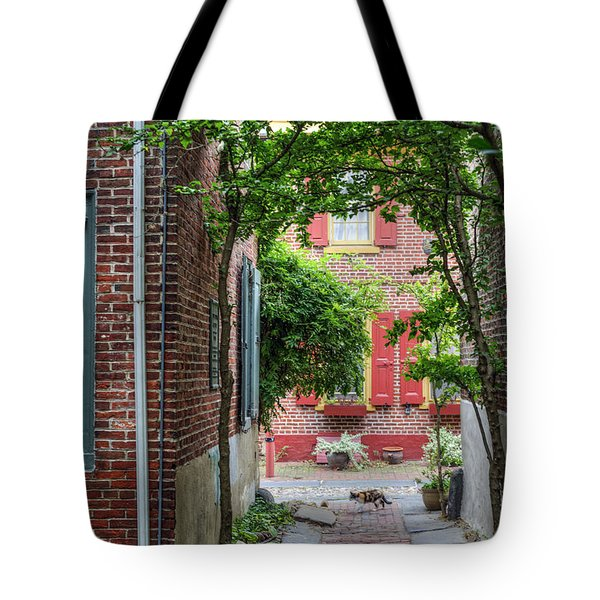 Calico Alley  Tote Bag