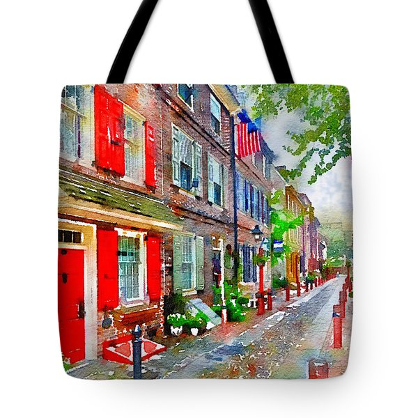 Elfreths Alley Tote Bag