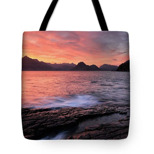 Elgol Sunset - Isle Of Skye 2 Tote Bag