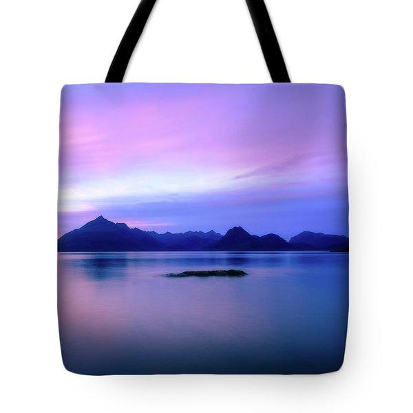Elgol Sunset Tote Bag