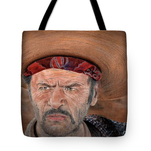 Eli Wallach As Tuco In The Good The Bad And The Ugly Version II Tote Bag