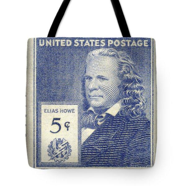 Elias Howe (1819-1867) Tote Bag by Granger
