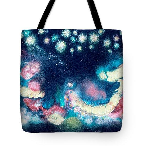 Elijah's Dream II Tote Bag by Lee Pantas