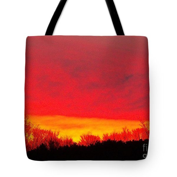 Tote Bag featuring the photograph Elijahs Host by Christian Mattison