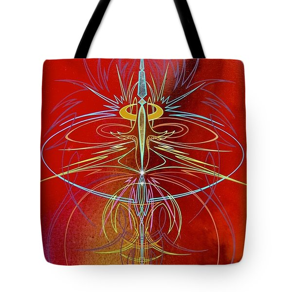 Elijah's Whirl Wind  Tote Bag