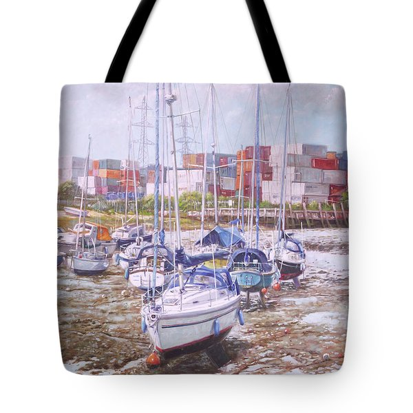 Eling Yacht Southampton Containers Tote Bag