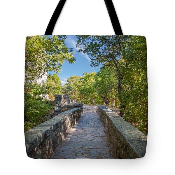 Eliot Memorial Bridge Tote Bag by Brian MacLean