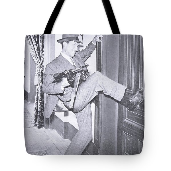 Eliot Ness Tote Bag