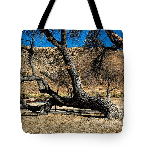 Elizabeth Lake Tree Tote Bag