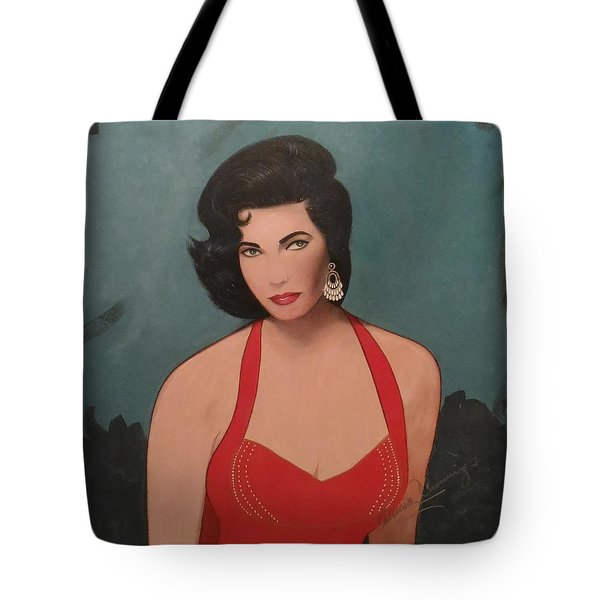 Elizabeth Taylor - Absolutely Beautiful Tote Bag