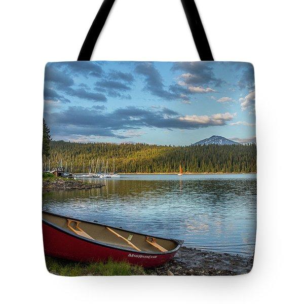 Elk Beach Memories Tote Bag
