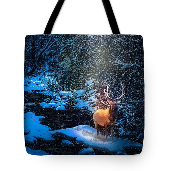 Elk Creek Tote Bag