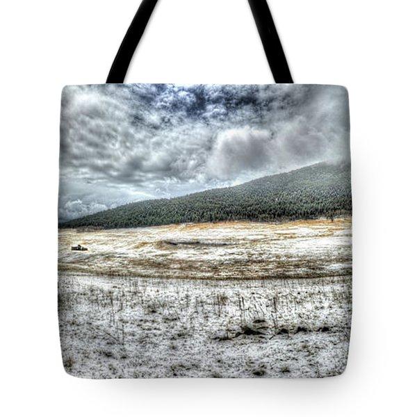 Elk Meado Pano Tote Bag