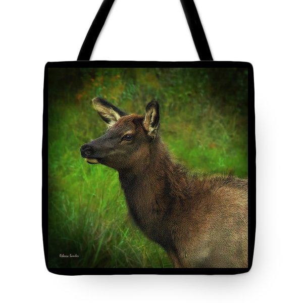 Elk Of Benezette Tote Bag