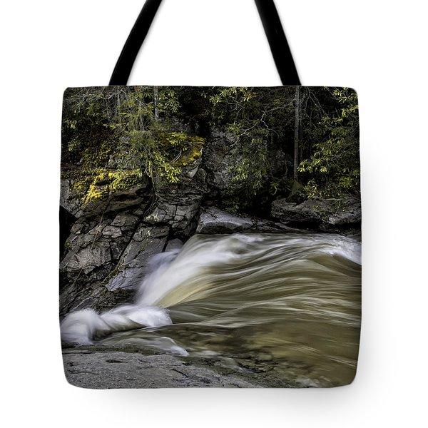Elk River Falls Tote Bag