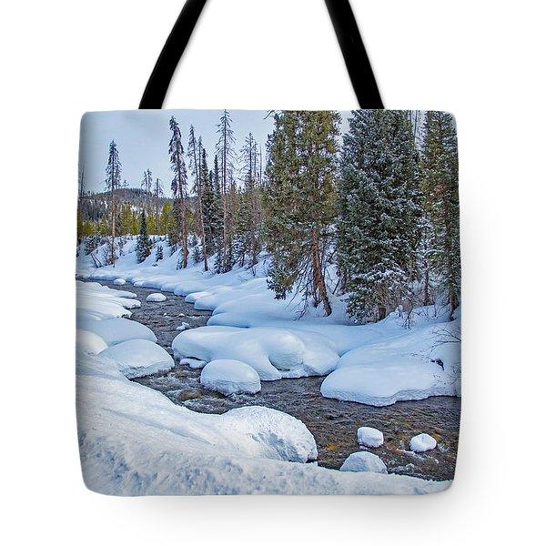 Elk River Tote Bag