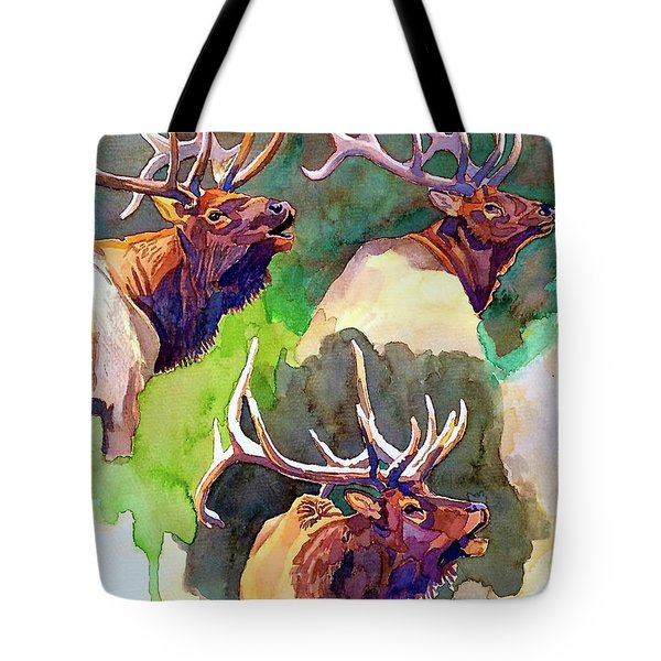 Elk Studies Tote Bag