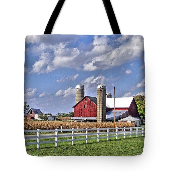 Elkhart County Farm Tote Bag