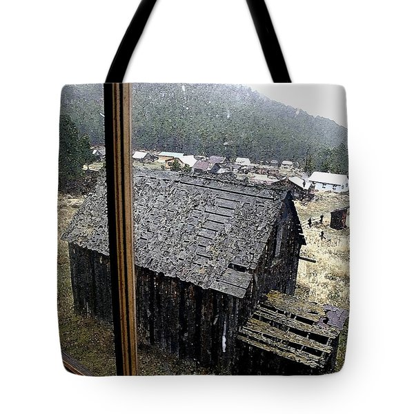 Elkhorn Snowfall Tote Bag