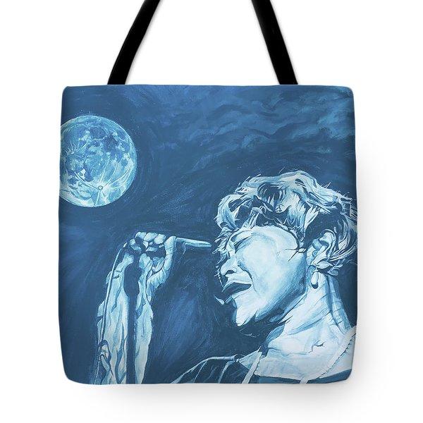 Ella Singing 'blue Moon' Tote Bag