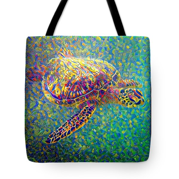 Ella The Turtle Tote Bag