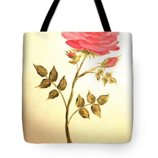 Ella's Rose Tote Bag
