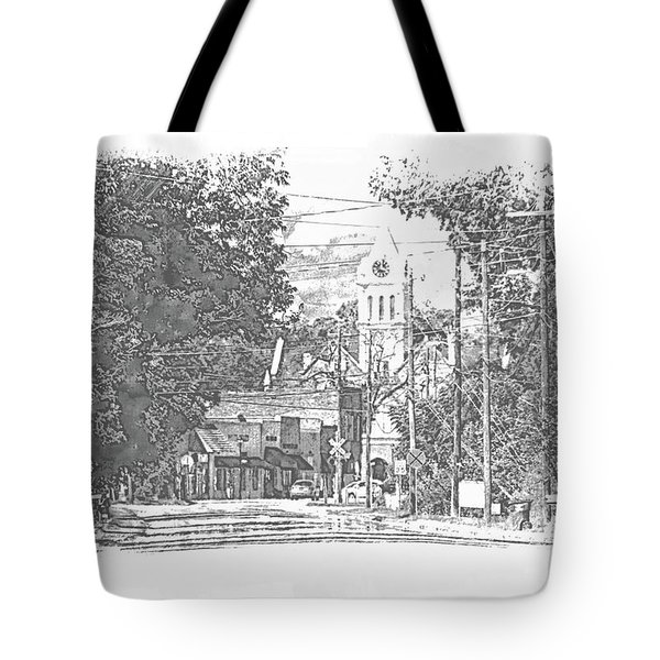 Tote Bag featuring the photograph Ellaville, Ga - 1 by Jerry Battle