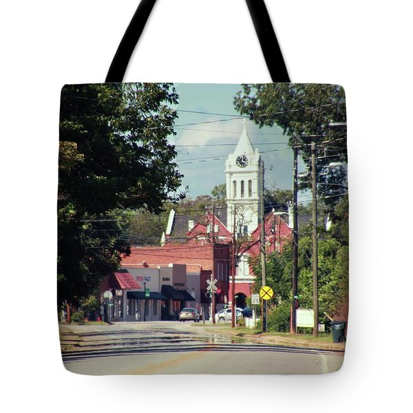 Tote Bag featuring the photograph Ellaville, Ga - 2 by Jerry Battle