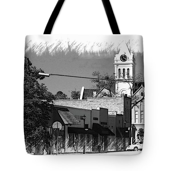 Tote Bag featuring the photograph Ellaville, Ga - 3 by Jerry Battle