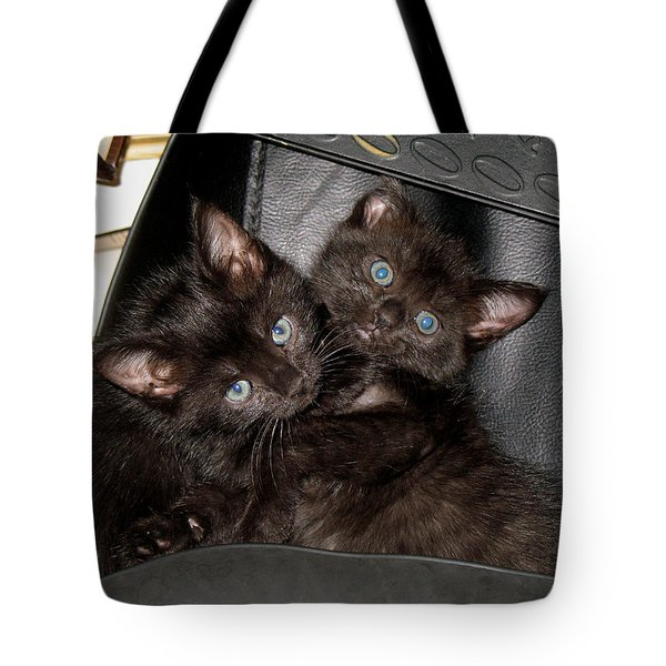 Ellen And Elvira Tote Bag