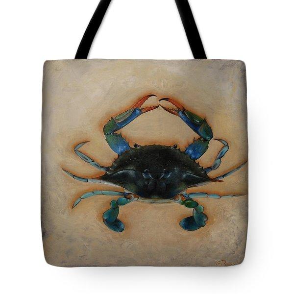 Ellen's Crab Tote Bag