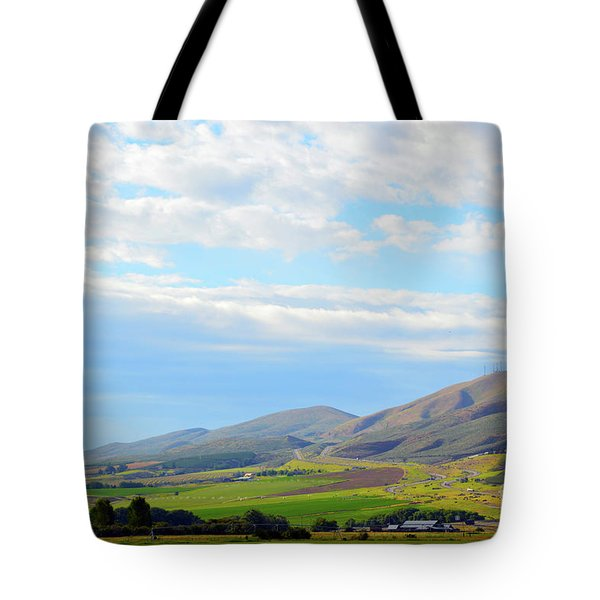 Ellensburg - Manastash Ridge Tote Bag