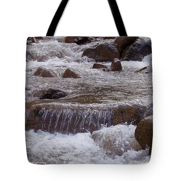 Ellenville Waterfall Tote Bag