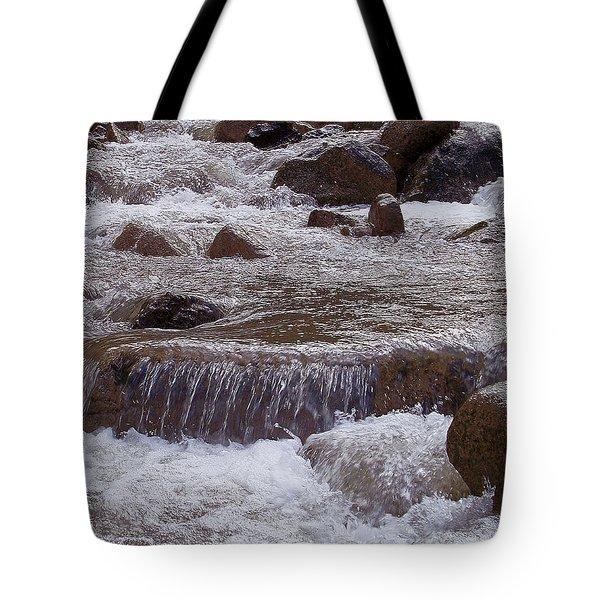 Ellenville Waterfall Tote Bag