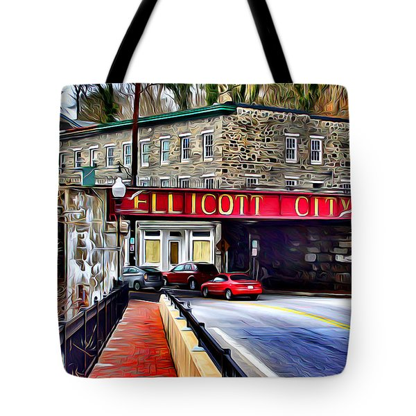 Ellicott City Tote Bag by Stephen Younts