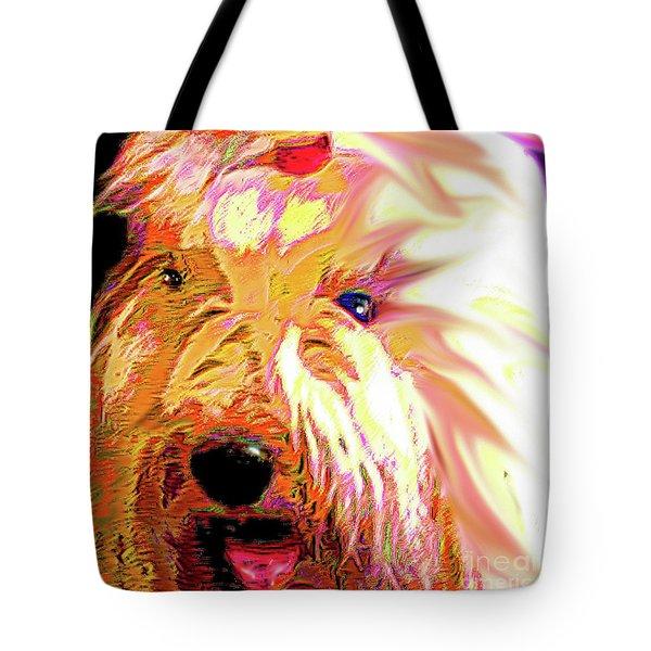 Ellie Tote Bag by Alene Sirott-Cope