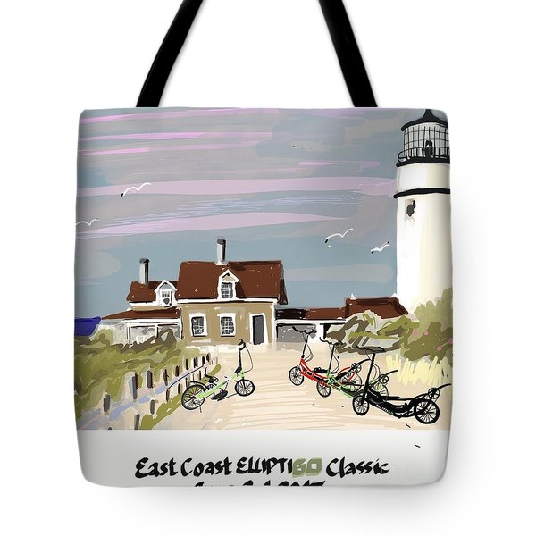 Elliptigo Art Tote Bag