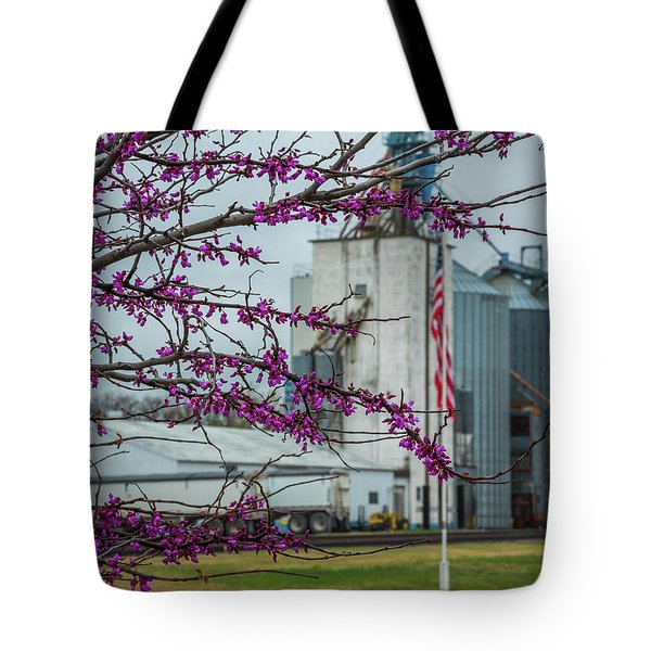 Ellsworth Blooms Tote Bag by Darren White