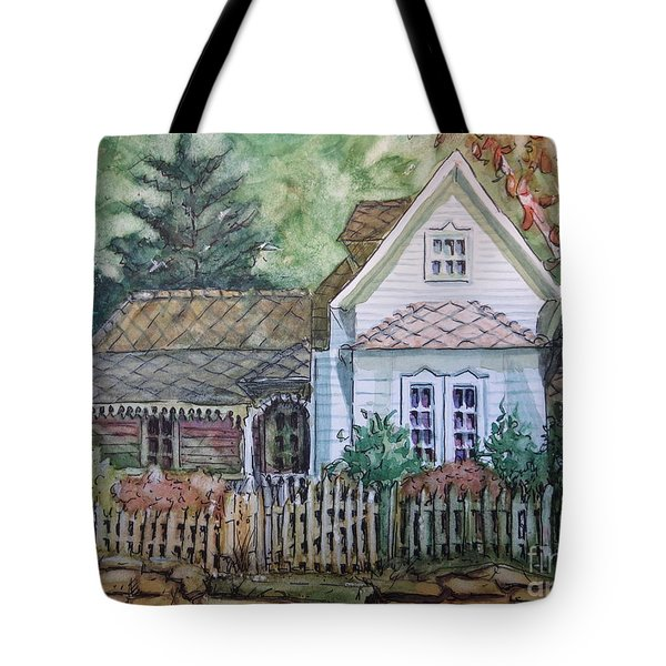 Elma's Home Tote Bag by Gretchen Allen