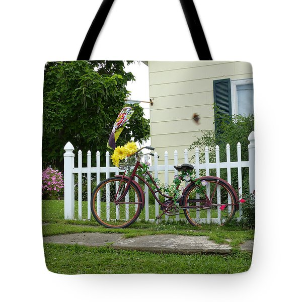 Elmer Bicycle Tote Bag