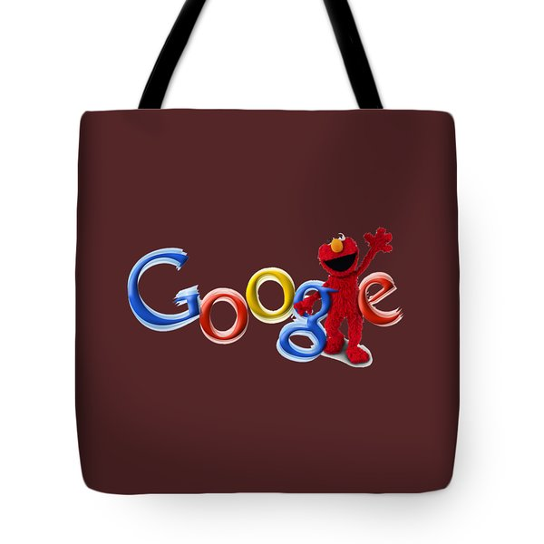 Elmo Google T-shirt Tote Bag