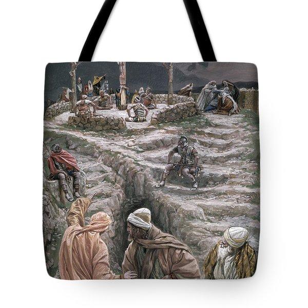 Eloi Eloi Lama Sabacthani Tote Bag by Tissot