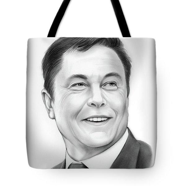 Elon Musk Tote Bag