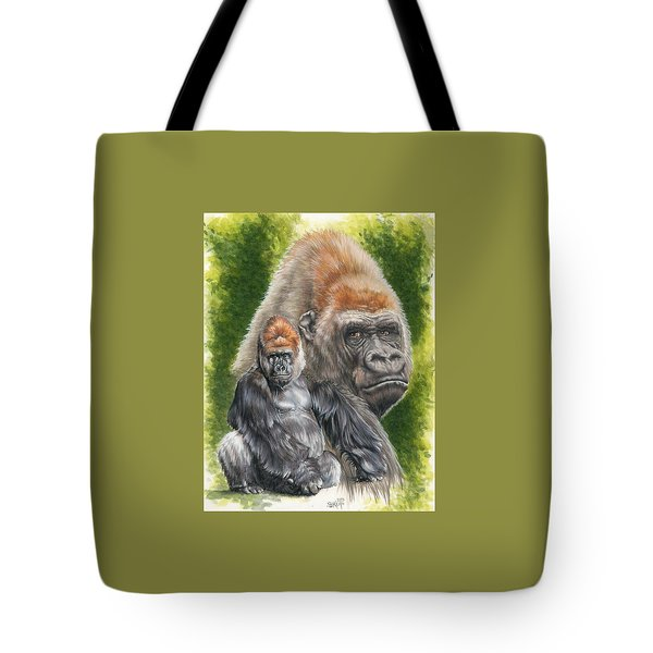 Tote Bag featuring the painting Eloquent by Barbara Keith
