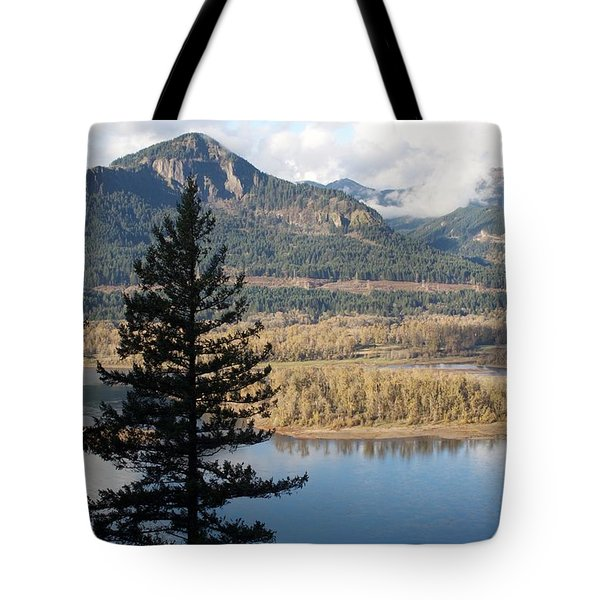 Tote Bag featuring the photograph Elowah Solo Silhouette by Dylan Punke