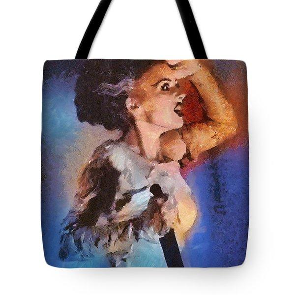 Elsa Lanchester, Bride Of Frankenstein Tote Bag